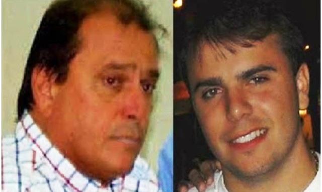 Empresário Edvaldo Fagundes e o filho Rodolfo se entregam à PF em Mossoró.