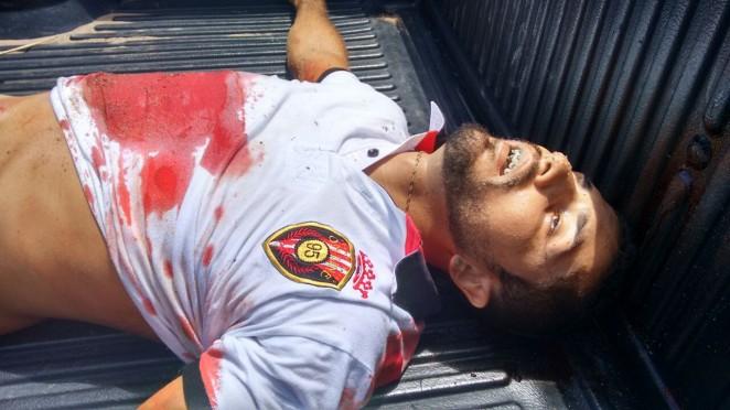 Chuva de bala no Planalto em Natal com assaltantes de bancos.