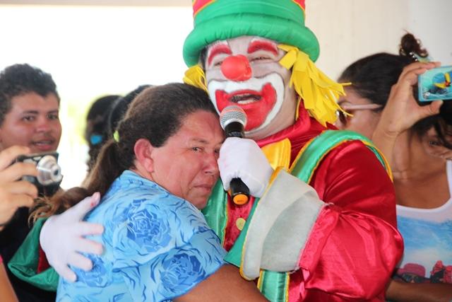 Emoção e alegria marcaram o domingo de pascoa de todas as crianças do município.