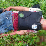 Quatro homens são mortos após troca de tiros com a polícia.