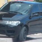 Carro preto com películas escuras e sem placas mobiliza todo efetivo policial em Guamaré.