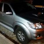 Cantor da banda Forró da Ostentação é flagrado com veículo roubado em Assú.
