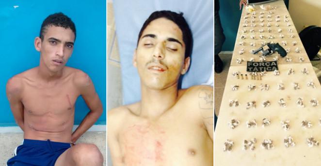 Um homem morre e outro é preso após confronto com a PM na zona Norte.