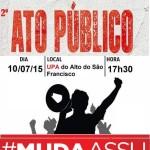 #MUDAASSU: População vai às ruas protestar contra descaso da administração municipal.