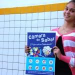 """Câmara de Vereadores lança projeto inovador """"Câmara do Saber"""", aproximando a comunidade escolar do legislativo."""