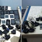 Agentes acham mais de 50 celulares dentro de presídio de Caicó.