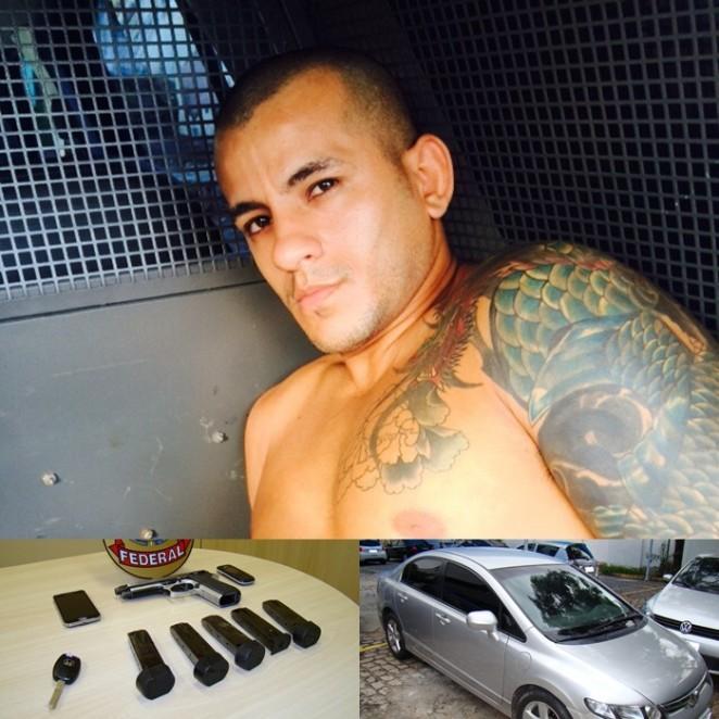 Acusado de fazer vários assaltos contra os Correios no RN é preso pela Polícia Federal.
