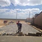 Guamaré: Prefeitura inicia pavimentação em diversas ruas do município.