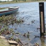 População feliz, nível do rio Piranhas aumentou.