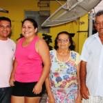 Suplente de Vereador Severo da Silva Vaqueiro comemora o aniversario ao lado da família.