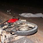 Acidente entre carro e moto deixa vitima faltal em Guamaré.