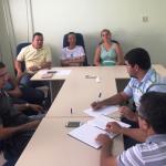 Guamaré: Presidente da Câmara realiza reunião com equipe administrativa.