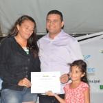 Guamaré: Alunos do PRONATEC receberam diplomas em solenidade.