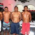 Denúncia, investigação, correria, prisões e apreensão em noite policial movimentada em Guamaré.