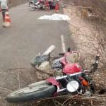 Cabo da PM morre em acidente com motocicleta entre Pedro Avelino e Afonso Bezerra.