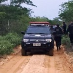 Ação rápida da policia impede fuga de assaltantes do banco de Afonso Bezerra pela BR 406.