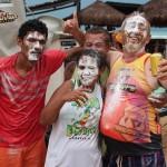 A alegria do povo tem sido desde o início contagiante marcado pela irreverencia no carnaval da Ilha.