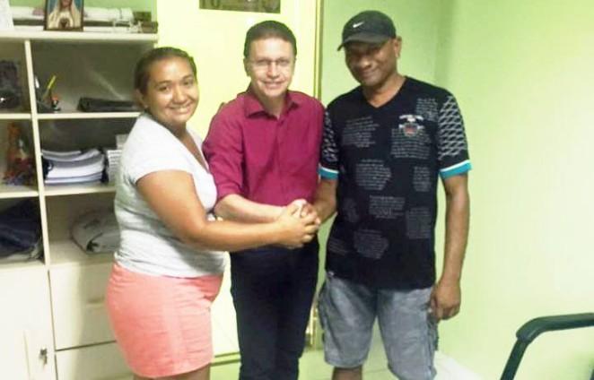 Guamaré: Vereador Edinor Albuquerque amplia sua base e traz um policial militar.
