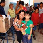 O ano escolar em Galinhos é iniciado com entrega de material escolar.