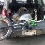 Polícia de Guamaré fecha desmanche de motos na comunidade de nova Jerusalém.