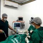 Guamaré: Cirurgia Otorrinolaringológica é realizada no Centro Cirúrgico do Hospital Manoel Lucas de Miranda.