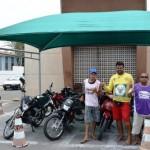 Bom exemplo: Prefeitura de Guamaré instala tendas em pontos de Mototaxista na cidade.