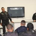 PMs e GMs recebem treinamento do BOPE em Guamaré.