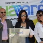 Prefeitura de Guamaré entrega três obras à população do município.