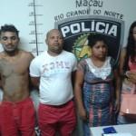 Policia Civil e GM de Guamaré prende líder de quadrilha suspeita por roubo de joias em Caicó.