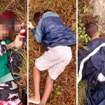 Cinco homens são mortos a tiros na Zona Norte de Natal, uma das vitimas pode ser de Guamaré.