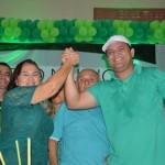 Convenção homologa candidatura à reeleição do prefeito Hélio e Iracema em Guamaré.