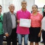 Aluno de Guamaré recebe Menção Honrosa da OBMEP na Olimpíada Brasileira de Matemática.