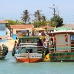 Transporte fluvial gratuito de Galinhos/Guamaré.