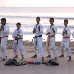 Atletas de karatê de Galinhos garantem vaga no campeonato brasileiro.
