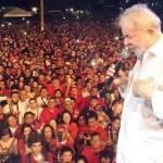 Mais de 20 mil pessoas receberam Lula em Mossoró