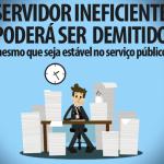 Comissão do Senado aprova fim da estabilidade para servidores públicos.