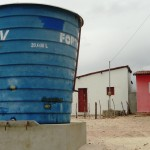 Água pra quem tem sede: Prefeitura de Guamaré instala reservatório com 20 mil litros na zona rural.