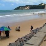 Turista de Minas Gerais morre afogado na praia de Ponta Negra, em Natal.