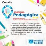 Prefeitura realiza nesta quarta-feira a Jornada Pedagógica
